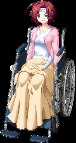Ritsuko Chronicles 04 Wheelchair