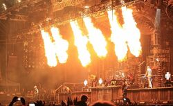 Rammstein na koncercie
