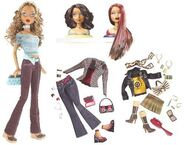 My Scene Swappin' Styles Madison Doll