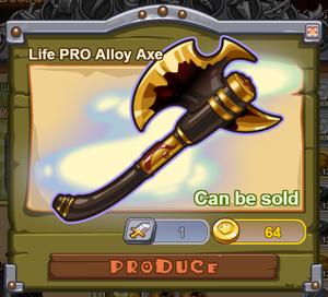 Life PRO Alloy Axe