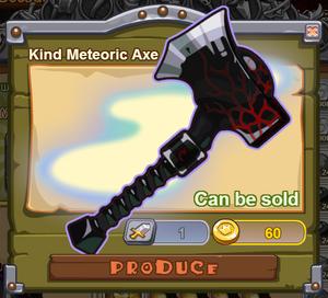Kind Meteoric Axe