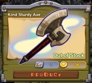 Kind Sturdy Axe