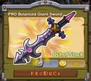 PRO Balanced Giant Sword