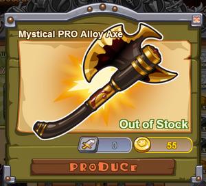 Mystical PRO Alloy Axe