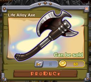 Life Alloy Axe