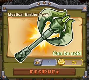Mystical Earthen Axe