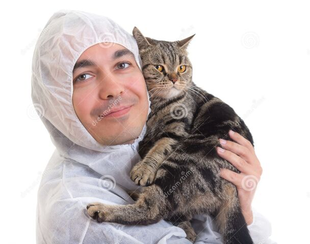 File:Man-protective-clothing-holding-cat-isolated-25363714.jpg