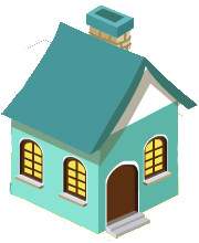 Teal Small House