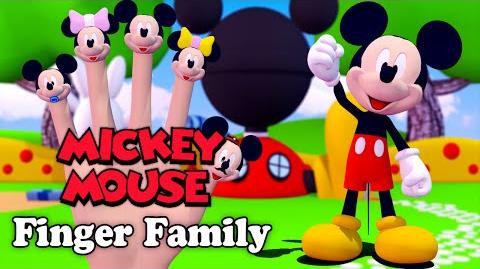 Nursery Rhymes Mickey Mouse 3D Finger Family 3D Animation In HD From Binggo Channel