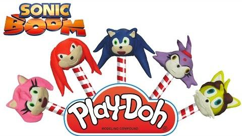 Sonic Boom Play-Doh Finger Family Nursery Rhyme Song