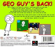 Geo Adventure 2 PS1 back cover NTSC