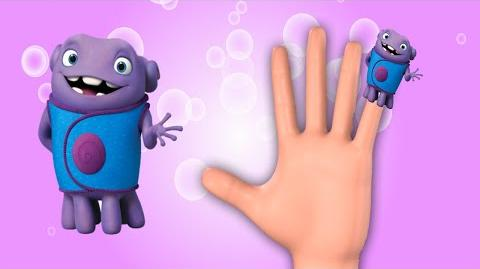 Dreamworks Home Finger Family and Other Animations Nursery Rhymes