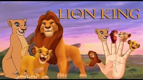 Finger Family Lion King Finger Family songs Nursery Rhymes for babies