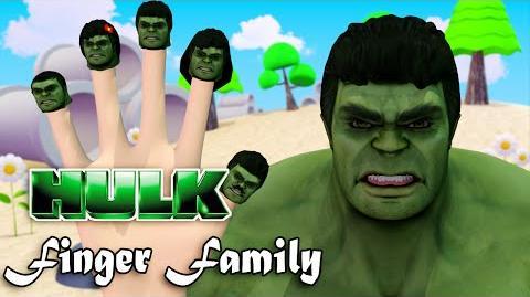 Hulk Finger Family Nursery Rhymes 3D Animation In HD From Binggo Channel