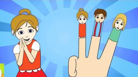 The Finger Family (New) Nursery Rhyme Cartoon Animation Songs For Children