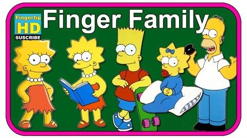 The Simpsons Family Finger Family Collection Finger Family Songs The Simpsons Finger Nursery Rhymes-0