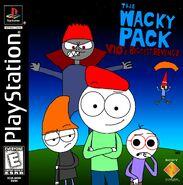 The Wacky Pack - Vio's Biggest Revenge PS1 Cover Art (NTSC)