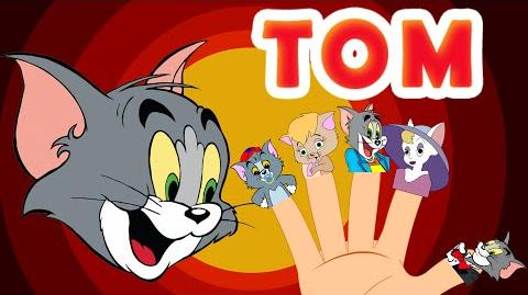 TOM Finger Family (Tom and Jerry) Nursery Rhymes for Kids MY FINGER FAMILY RHYMES