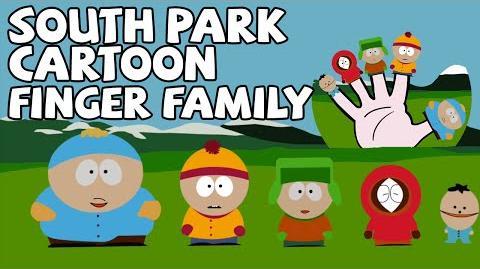 Finger Family Funny South Park Cartoon Finger Family Rhymes for Children