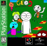 Geo Adventure 2 PS1 cover Greatest Hits