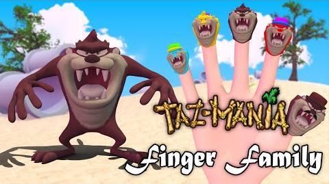 TAZ-MANIA 3D Finger Family Nursery Rhymes 3D Animation In HD From Binggo Channel