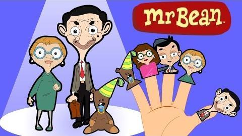 MR BEAN Finger Family Nursery Song MY FINGER FAMILY RHYMES