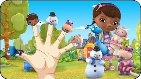 Finger Family Doc McStuffins Nursery Rhymes for Children Kids Songs