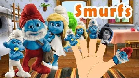 SMURFS Finger Family Nursery Rhyme by MY FINGER FAMILY RHYMES & Songs for Kids