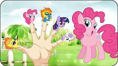 Finger Family My Little Pony Nursery Rhymes for Children Kids Songs