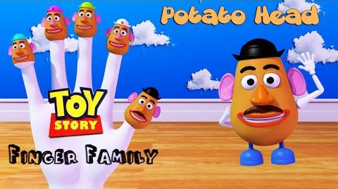 Potato Head Toy Story Finger Family 3D Animation In HD From Binggo Channel