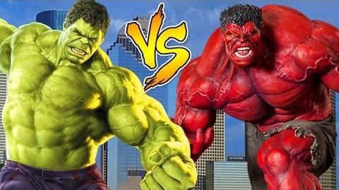 Finger Family Rhymes By Hulk Vs Red Hulk Cartoons Epic Rap Battle Finger Family Nursery Rhymes