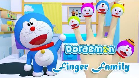 Doraemon 3D Finger Family Nursery Rhymes 3D Animation In HD From Binggo Channel