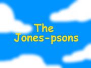 The Jones-psons Title Card