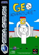 Geo Adventure Sega Saturn cover PAL