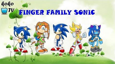 Finger Family Sonic Nursery Rhyme Koko TV Channel