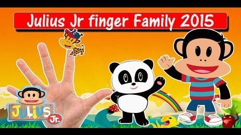 Julius Jr Finger Family 2015 Kids Song Daddy Finger Nursery Rhyme Finger Family