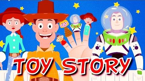 TOY STORY Finger Family Nursery Rhymes For Kids