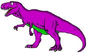 Barney the Purple Tyrannosaurus Rex