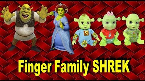 The Finger Family SHREK - Family Nursery Rhyme - Shrek Finger Family Songs - Family Finger Shrek