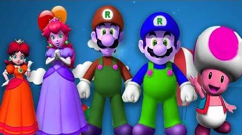 Finger Family Nursery Rhymes For Children Super Mario Cartoons For Kids Finger Family Rhymes