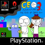 Geo Adventure 3 PS1 cover PAL