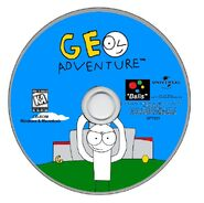 Geo Adventure PC disc NTSC