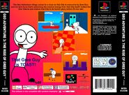 Geo Adventure 3 PS1 back cover PAL
