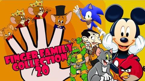 Finger Family Collection Top 20 Superhero Cartoon Finger Family Rhymes Finger Family