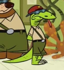 Larry Monitor Lizard