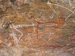 Aboriginal-rock-art-by-paul74