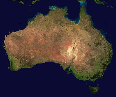Australia satellite plane