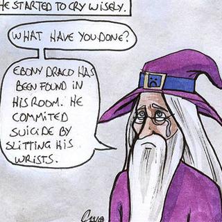 Dumbelldork in the comic