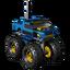 MLN TRC Blue Monster Racer