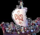 Viking Ship 1 Sticker